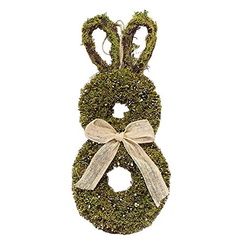 MARKS Spring Easter Bunny Garland Artificial Handmade Plant Garland Home Doors And Windows Wedding Party Decoration Sign Decoration