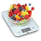 Himaly Bilancia da Cucina, 10Kg/1g Bilancia Elettronica Digitale Alta Precisione Misurazione Display LED Multifunzione da Cucina