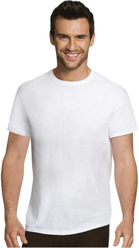 Hanes Mens Ultimate Comfort Super sale period limited Undershirt Tucson Mall 5-Pack Crewneck Fit