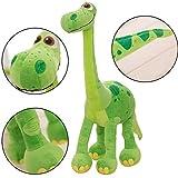 WENTS Gefüllte Dinosaurier Spielzeug Plüsch Stofftier Schöne Weiche PP Baumwolle Plüschtier Home Party Kid Geschenk 30 Zentimeter (Grün)
