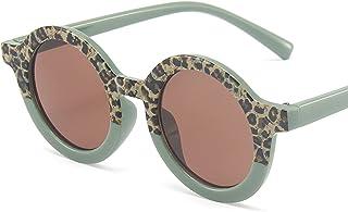 HQPCAHL - Gafas De Sol para Niños Gafas De Sol Polarizadas Vintage Redondas para Niños Y Niñas, Gafas De Sol Clásicas con Protección UV Gafas De Sol Modernas para Niños De 3 A 12 Años