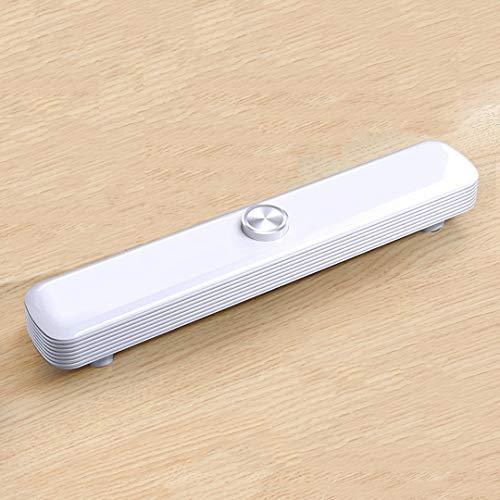 Altavoz Bluetooth, USB Altavoces para computadora Altavoces para PC Botón Giratorio Barra de Sonido Estéreo USB Alimentado con Cable Barra de Sonido para computadora portátil de Escritorio (Blanco)