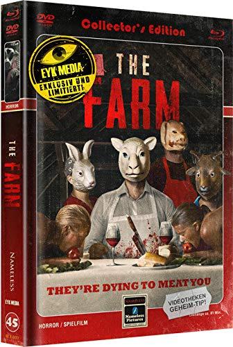 The Farm - Mediabook - Limited Edition auf 555 Stück - Cover C - Retro  (+ DVD) [Blu-ray]