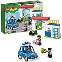 LEGO Duplo Rescue Comisaría de policía, Juguete Creativo de construcción y Aventuras, Multicolor (10902)