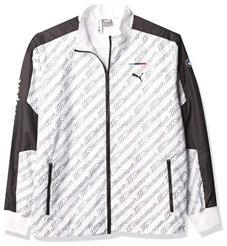 PUMA Formula 1 Bmw M Motorsports Street Jacket para hombre, Hombre, BMW M Motorsports Street Chaqueta, 59607802, Puma blanco, L