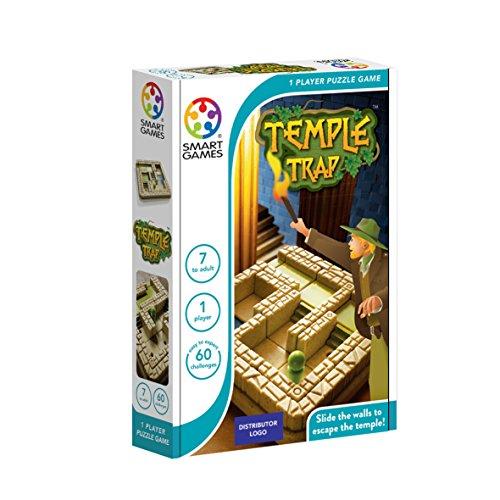 Temple Trap - Smart Games, Juego educativo para niños, juegos de mesa infantiles, juguetes para niños, Smartgames, juguete puzzle para pequeños