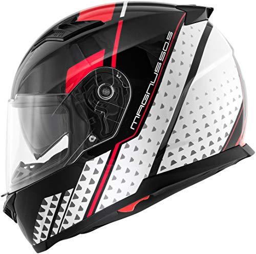 GIVI casco Integral 50.5tridion–Magnus M Nero/Bianco / Rosso