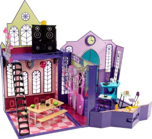 Mattel Monster High X3711 - Schule, ausklappbar, mit viel Zubehör