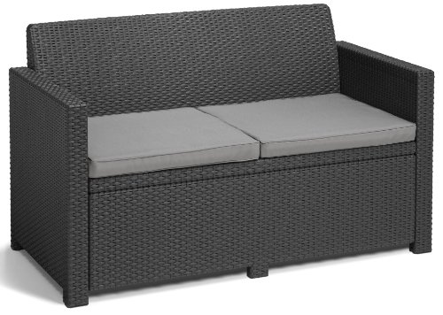 Allibert Lounge-Set Merano 4tlg, graphit/cool grey - 3