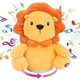 Hopearl Musical Plush Lion Singing Dancing...