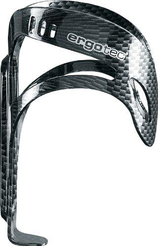 ergotec Humpert Carbon Look Portaborraccia Completamente in Alluminio, Nero