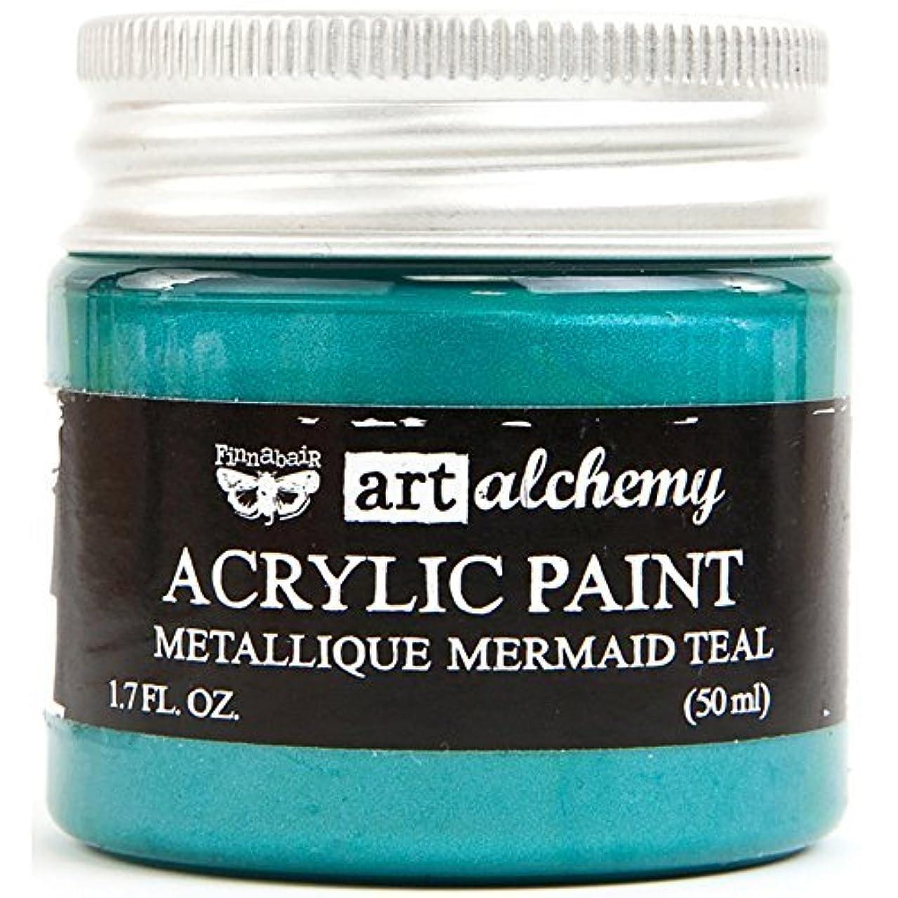 Prima Marketing Art Alchemy - Metallique - Mermaid Teal