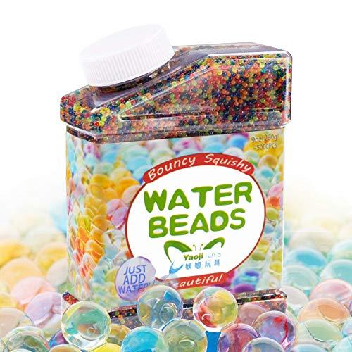 30000 x colores mezclados cristal tierra gel cuentas Jelly agua perla para jarrón relleno