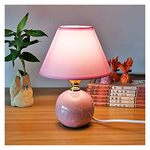 JSJJAWD Lámpara de Mesa Mini Lámpara de Mesa de cerámica Estudio Dormitorio Decoración Lámpara Moderna China Cálida Lámpara de Mesa