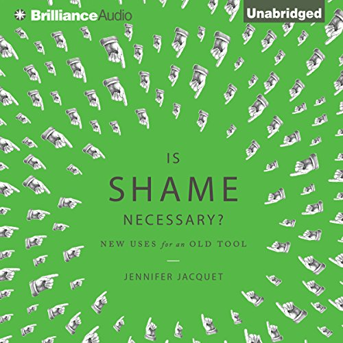 Is Shame Necessary? audiobook cover art