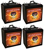 Qty 4 XTR6-235 6V 235AH: 6.48kWh (1.62kWh Each) AGM Solar Battery Bank for Home, RV, or Industrial...