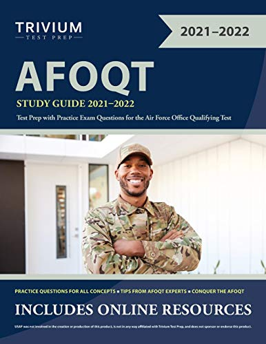 AFOQT Study Guide 2021-2022: Test Prep with Practice Exam Questions for the Air Force Office Qualifying Test