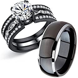 15 Affordable Wedding Ring Sets For Him And Her A Fashion Blog