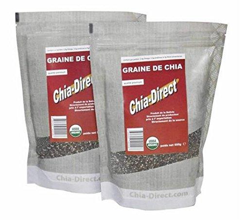 2,0 kg di semi di chia 100% liberi da pesticidi
