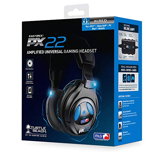 Turtle Beach - Ear Force PX22 Universal Amplified Gaming Headset - PS3, Xbox 360, PC
