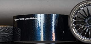 3M 1080 Gloss Midnight Blue | GP272 | Vinyl CAR WRAP Film (5ft x 1ft (5 Sq/ft)) w/Free-Style-It Pro-Wrapping Glove