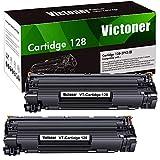 Victoner Compatible Toner Cartridge Replacement for HP 78A CE278A Canon 128 CRG128 Toner Cartridge for HP Laserjet P1606DN M1536DNF Canon ImageClass D530 D550 MF4450 MF4770N LBP6230DW(Black, 2-Pack)