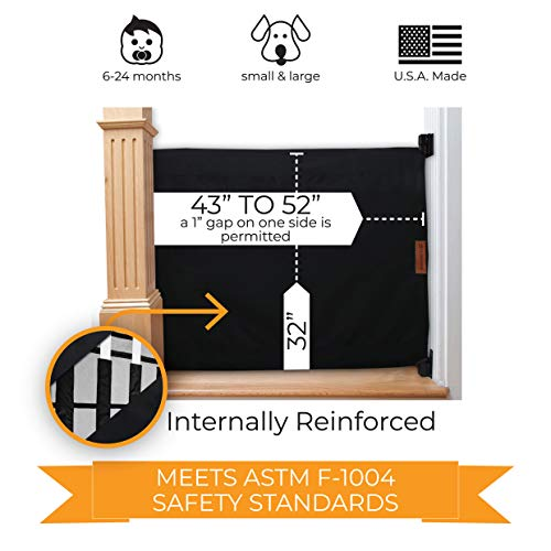 51+FMItTTZL The Best Baby Gates for Dogs 2021 [In-depth Review]