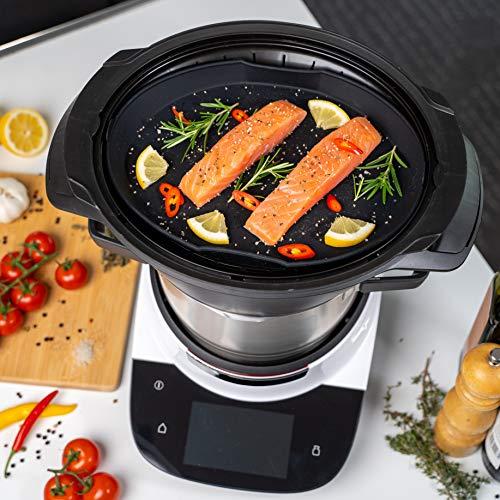 mixcover Molde de silicona para cocinar al vapor Bosch Cookit