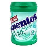 Mentos Pure Fresh Gum, Bottle, Spearmint Flavour, 54.6g