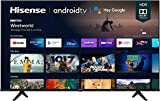 Ultra HD Android Smart TV with Alexa Compatibility (2021 Model),1PACK/A6G 43-Inch(1pack/TV Only).