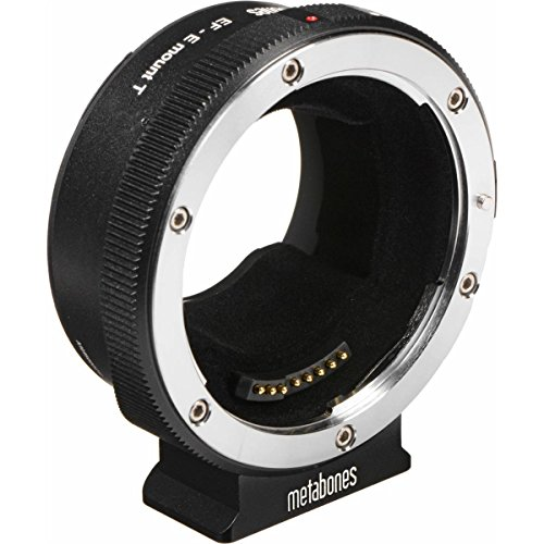 Metabones Canon EF/EF-S Lens to Sony E Mount T Smart Adapter - 5th Generation - with Microfiber Cleaning Cloth