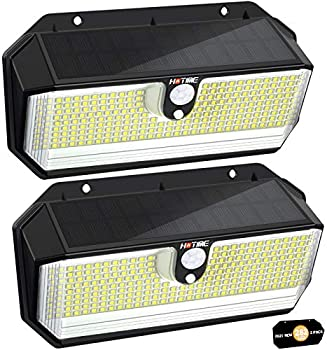 2-Pack Hotime Outdoor Solar Lights
