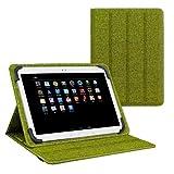 eFabrik Universal Schutztasche für 10.1 Zoll Tablet Wendehülle Tasche Case