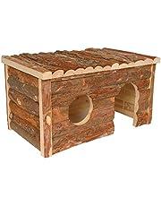 Arquivet Casa de madera grande - para roedores - 40 x 23 x 20 cm