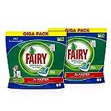 Fairy Profesional Pastillas Lavavajillas Original Todo en 1 - 200 cápsulas (Pack de 2 x 100...