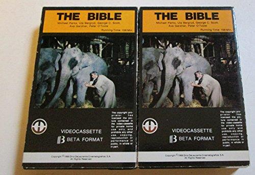 The Bible - Beta Tape [2 Tape Set] (1980) Magnetic Video