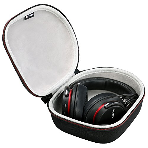 LTGEM Hard Case Travel Carrying Bag for Sony, Audio-Technica, Xo Vision, Behringer, Beats, Photive, Philips, Bose, Maxell, Panasonic and More Headphone.