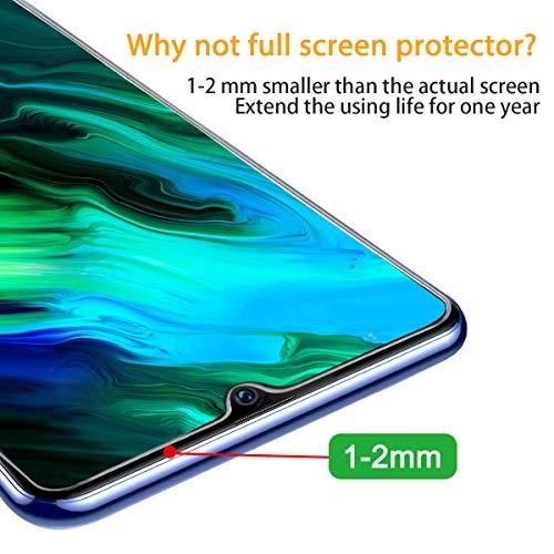 Schutzfolie für Honor 10 Lite Folie,Premium HD Anti-Kratzer Glasfolie 9H Displayschutzfolie für Honor 10 Lite Panzerglas[Bubble-frei][Anti Fingerabdruck][Anti-Öl] - 4
