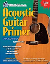 Acoustic Guitar Primer for Beginners (Book & CD-ROM)