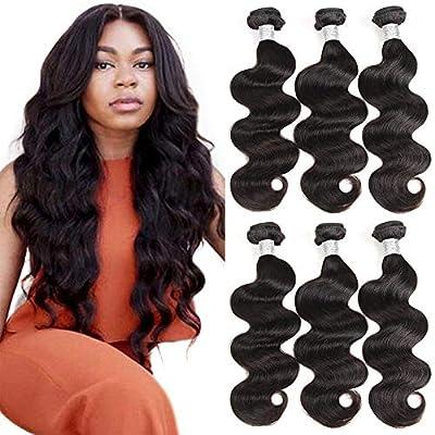 Beauty Princess Body Wave Human Hair 3 Bundles Double Weft 8A Brazilian Hair Bundles