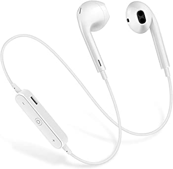 TTM Wireless in-Ear Waterproof Sports Bluetooth Earphones (White)