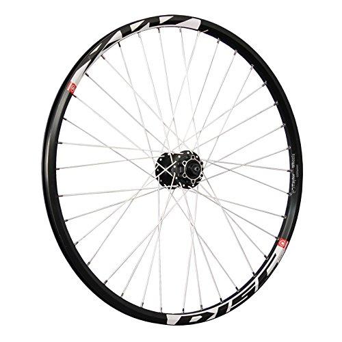 Taylor-Wheels 26 Pollici Ruota Anteriore Bici Mach1 MX Disc 6f. Nero