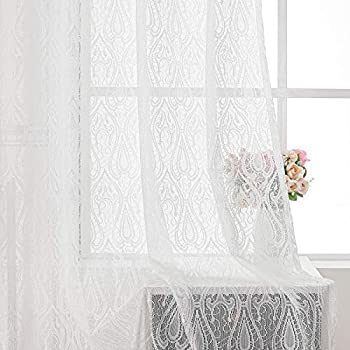 Best lace fabric for windows Reviews