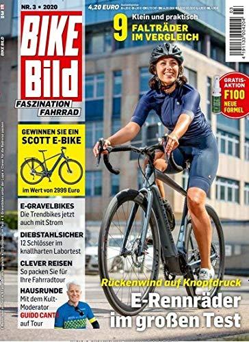 """Bike Bild 3/2020 \""""E-Rennräder im großen Test\"""""""