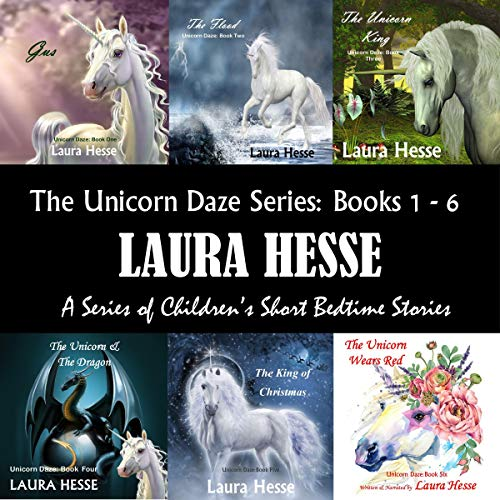 The Unicorn Daze Series, Books 1 - 6  By  cover art