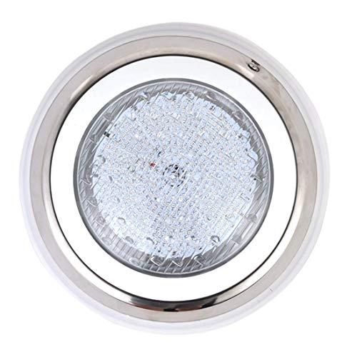 LED-Schwimmbadleuchten, 36 W RGB-Farbwechsel, 12 V Wechselstrom, 304 Edelstahloberfläche, 5 Fuß Kabelwandmontage, IP68 wasserdicht, mit Fernbedienung