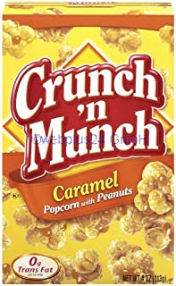 Crunch n Munch Caramel Popcorn mit cacahuates (99g
