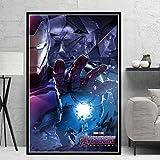 CAPTIVATE HEART Tela de Lienzo 50x70cm sin Marco Avengers Endgame Iron Man Marvel Personajes de la...