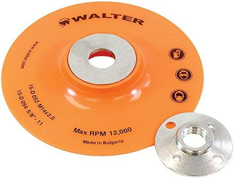 lowest Walter Surface Technologies 15D054 outlet sale Backing Pad Assembly - Round Hole Fastening Flexible Backing Pad. lowest Sanding Accessories outlet online sale