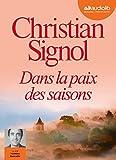 Dans la paix des saisons - Livre audio 1CD MP3 - Audiolib - 02/11/2016